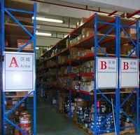 warehouse storage with pallete rack