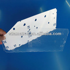 key board acrylic light guide panel