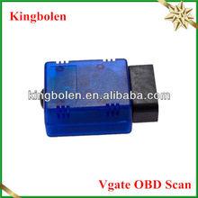 2013 Hot Mini Vgate ELM327 ELM 327 V1.5 OBD-II OBD2 OBDII Bluetooth Car Auto Automotive Scanner Scan Tool For Android Torque