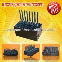 HOT!GSM modem Wavecom modem 8ports usb modem for bulk sms/mms/tc35 gsm modem