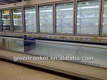 Supermarket freezer combi