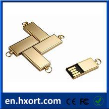Metal USB flash drive engraving mini flash pen