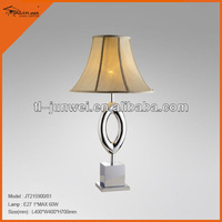 JT215900-01 2013 high quality fabric modern marble lamp