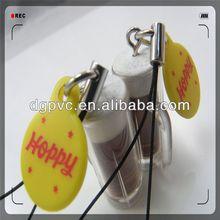 remote key ring ,polyresin animal statue, pvc manga