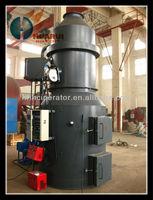 50kg/hr diesel oil medical incinerator
