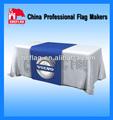 Tradeshow impr . personal de poliéster tabla de superposición