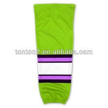fabulous dye sublimation custom fashion low price hockey socks