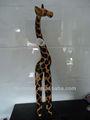 Jirafa de madera/jirafa decorativo