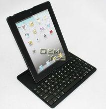 Bluetooth 360 Rotating Detachable Keyboard +TPU Case For iPad 3