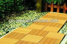 wood plastic bamboo composite deck tile