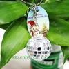 fashion large custom promotion key chain