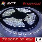 12v waterproof led strip lights factory price