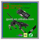New!!! Wholesale balck OEM plastic usb flash memory in factory price
