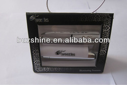 LED Eyebrow Tweezer with Light and Mirror,LED Tweezer for promotion gift
