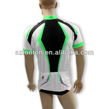 Sublimated cycling jersey kit