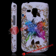New Design Butterfly and Flower Case for Galaxy S Duos S7562 (Various Colors)