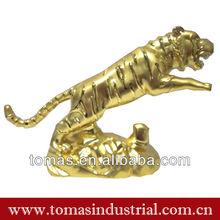 Novelty direct factory made metal custom decorative lion sculpture