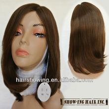100% human hair top quality Jewish wig Mono Top wig Lace wig wholesales