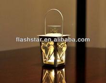 Love candlestick,classcial white iron ornaments