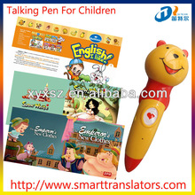 new products Fairy Tales Baby learning talking pen with Indonesian