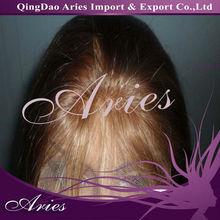 Lifelike hairline russian remi hair full hand made wigs