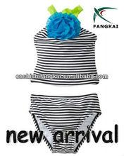 Nuovo 2013 taglio bambino- ragazze bambino costume da bagno tankini