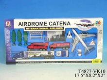 3D metal airplane model diecast