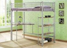 Single metal loft bed(JQH-003)