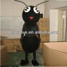hot selling black ant cartoon character mascot costume ANT mascot