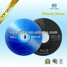25GB 4/6X Blu ray disc