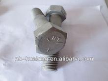 High Strength Hex Bolt 8.8 Hexagonal Hex Bolts Class 10.9