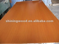CE Qualified 20MM MDF( MELAMINE FACED MDF)