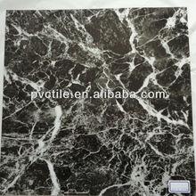 Fireproof Marble Realistic Flooring vinyl tiles state embossing