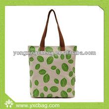 Cheap Organic Nature Cotton Canvas Shopping Tote Bag