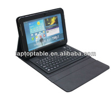 tablet case with bluetooth keyboard for ipad2