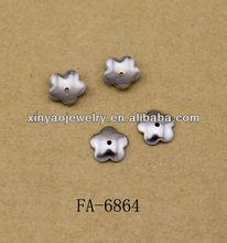 Stainless steel bead caps