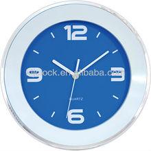 Fachional Quartz Clock Bule Dial White Hands