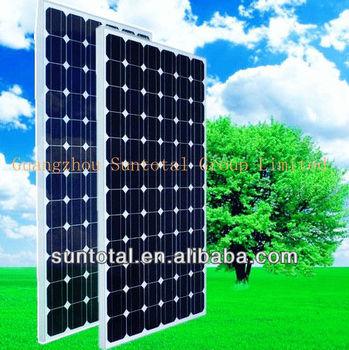 A grade High efficiency 200W Monocrystalline Solar Panel