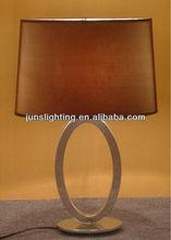 fancy mirror stainless steel table lamp