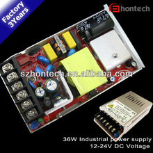 35w 28w 30w 36w ce rohs warranty 3years better than mean well switching power supply