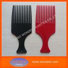Plastic fork hair comb for hair dressing