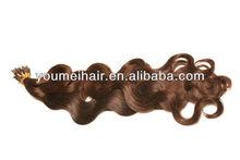 cheap! GradeAAA 100 keratin tip human hair extension i tip 100g