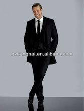 New Brand Name Fashion Office Uniforms Man Wedding Suits Designer Tuxedo Men Suit 100% Woolen
