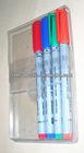 Transparent Plastic Pen Case