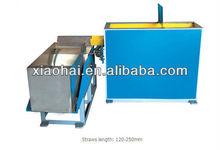 Automatic drinking straw gathering machine