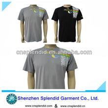 Men's O-neck wholesale t-shirt supplier
