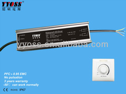 Constant current dimmable driver 60w led power supply 350ma 500ma 700ma 900ma 1000ma 1400ma 1500ma led driver dimmable