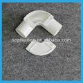tubería de pvc codo de tubería de pvc ajuste de 90 grados codo