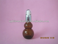 15ml glass essential oil bottle with cucurbit shape