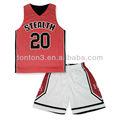 sublimação plus size poliéster conjunto uniforme de basquete